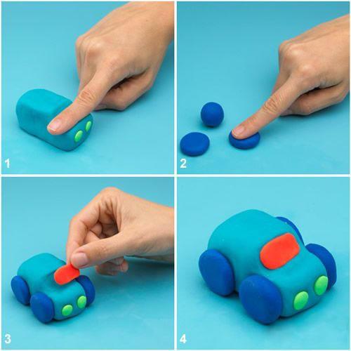 Как сделать с мастики игрушки